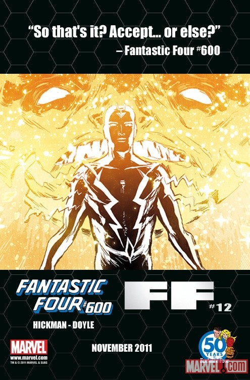 Fantastic Four #600 teaser by Ming Doyle