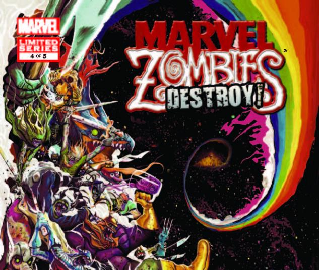 MARVEL ZOMBIES DESTROY! 4 (WITH DIGITAL CODE)