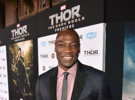 Adewale Akinnuoye-Agbaje (Algrim/Kurse) at the red carpet premiere of Marvel's Thor: The Dark World in Los Angeles