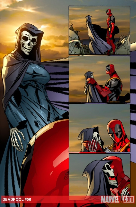 Deadpool (2008) #50 preview art by Carlo Barberi