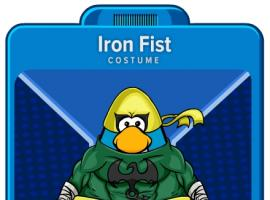 Iron Fist Suit from Club Penguin