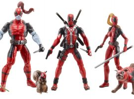 Hasbro's Deadpool Corps Special Edition figure set