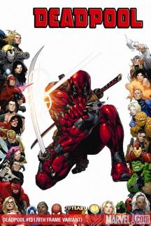 Deadpool (2008) #13 (70TH FRAME VARIANT)