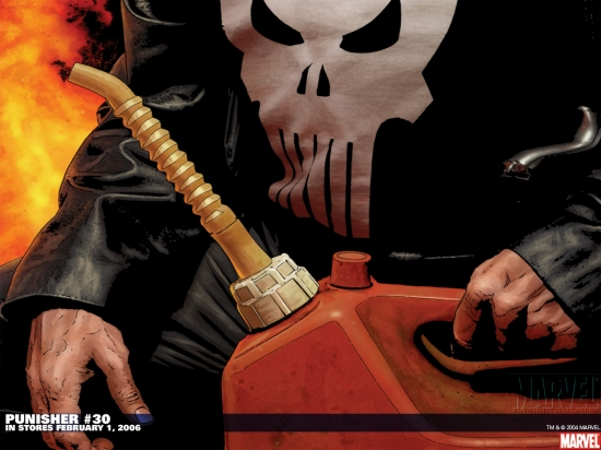 Punisher (2001) #1 Wallpaper