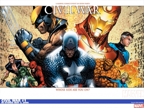 Civil War (2006) #1 Wallpaper