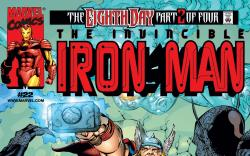 Cover to Iron Man (1998) #22