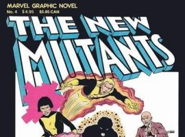 NEW MUTANTS GRAPHIC NOVEL #1 cover