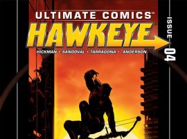 Ultimate Hawkeye #4 Cover