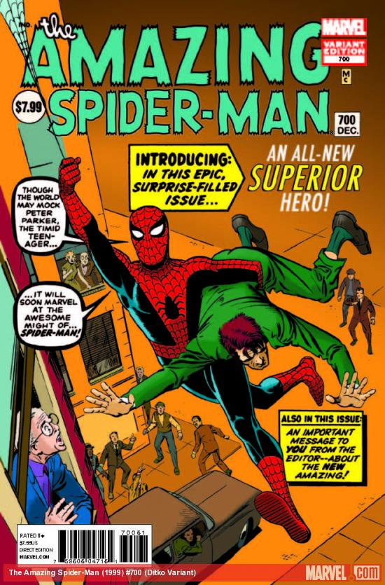 AMAZING SPIDER-MAN 700 DITKO VARIANT 