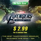 Get Avengers Initiative now for $2.99, down for a limited time from $6.99