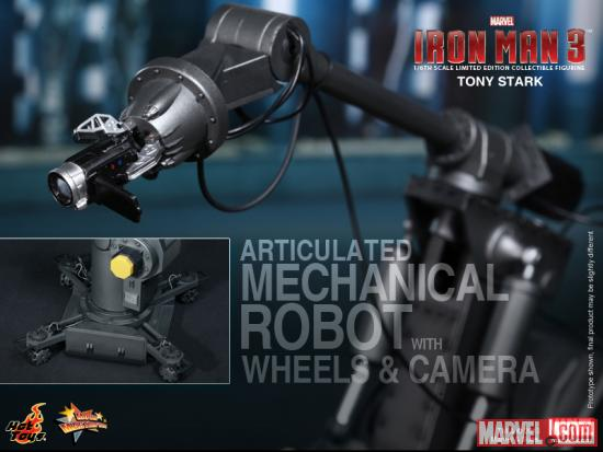 Iron Man 3 Tony Stark Figure from Hot Toys 4