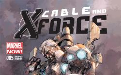 Cover from Cable and X-Force (2012) #5 (YU VARIANT)