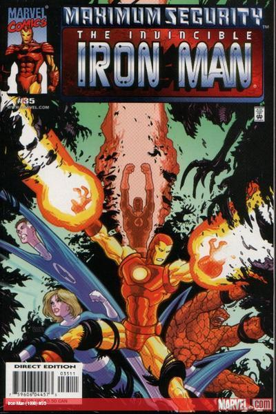 Iron Man (1998) #35 cover
