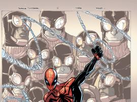Superior Spider-Man #14 cover by Humberto Ramos