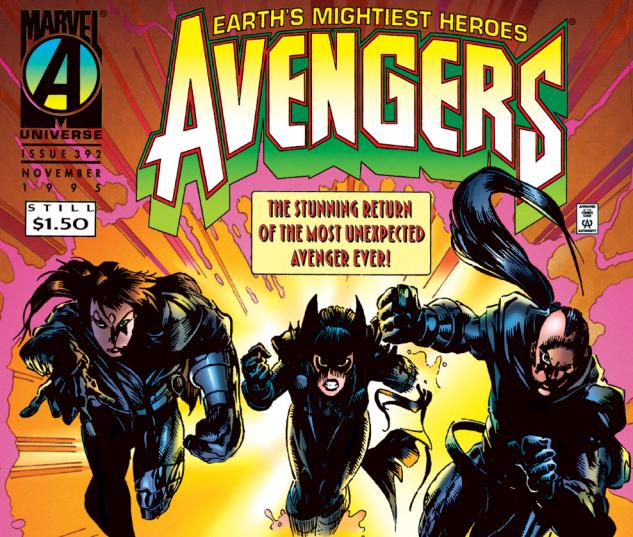 Avengers (1963) #392 Cover