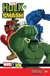 Marvel Universe Hulk: Agents of S.M.A.S.H. #1