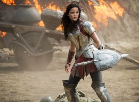 Sif in Thor: The Dark World