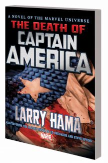 Captain America: The Death of Captain America Prose Novel (Trade Paperback)