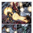 Image Featuring Silver Surfer, Ronan the Accuser, Quasar (Wendell Vaughn)