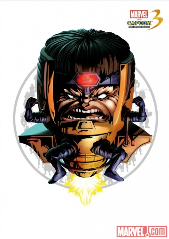 M.O.D.O.K. character art from Marvel vs. Capcom 3