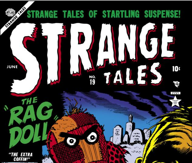 Strange Tales (1951) #19 Cover