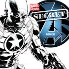 SECRET AVENGERS 1 QUESADA SKETCH VARIANT (NOW, 1 FOR 150, WITH DIGITAL CODE)