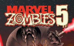 MARVEL ZOMBIES 5 #2 Cover by Mike Kaluta
