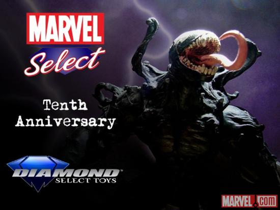 Marvel Select 10th Anniversary Venom Contest Image