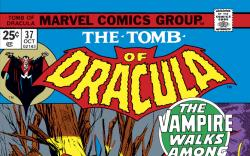 Tomb of Dracula (1972) #37 Cover