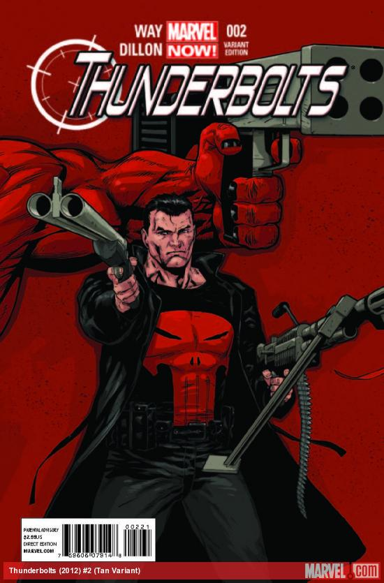 THUNDERBOLTS 2 TAN VARIANT (NOW, 1 FOR 50)