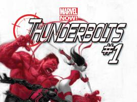 cover from Thunderbolts (2012) #1 (2ND PRINTING VARIANT)