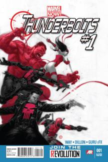 Thunderbolts (2012) #1 (2nd Printing Variant)