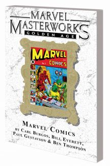Marvel Masterworks: Golden Age Marvel Comics (Trade Paperback)