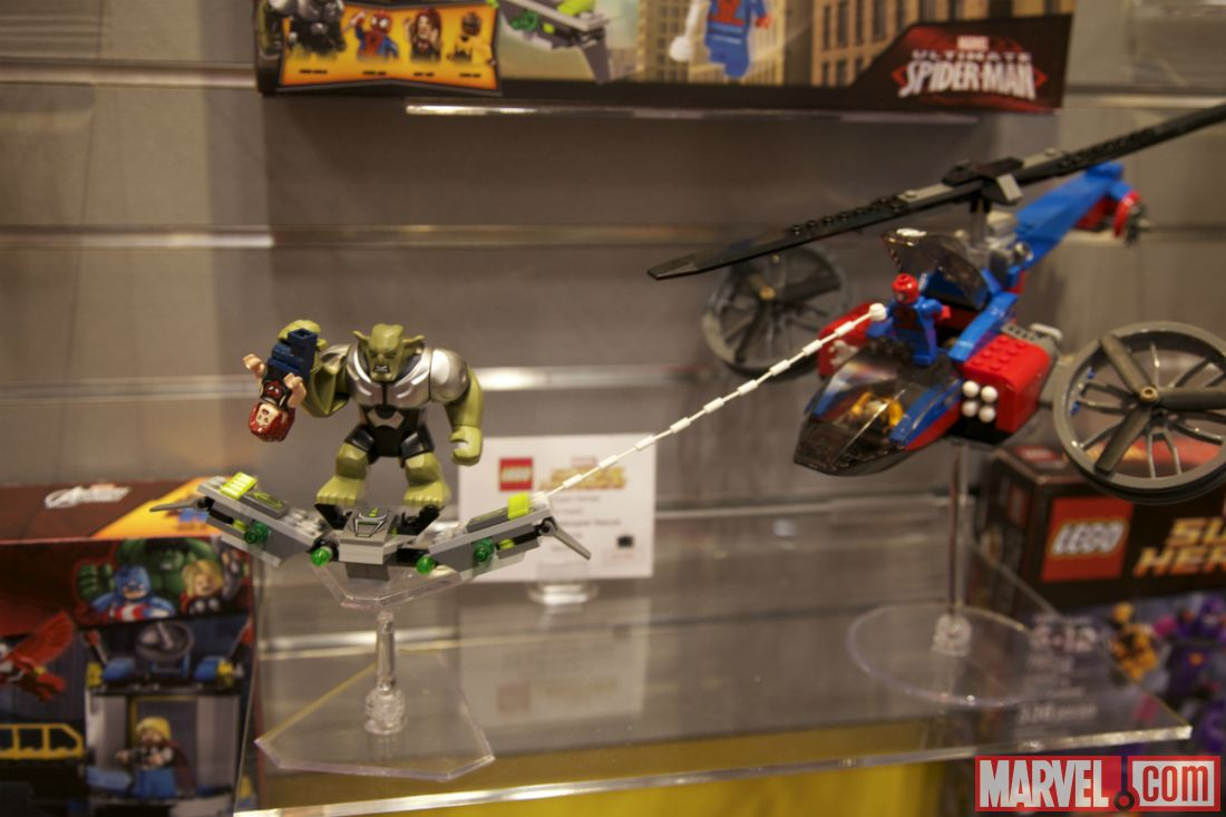 Ultimate Green Goblin Lego Ultimate Spider-Man and Green