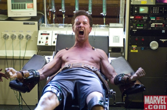 Edward Norton rages as Bruce Banner