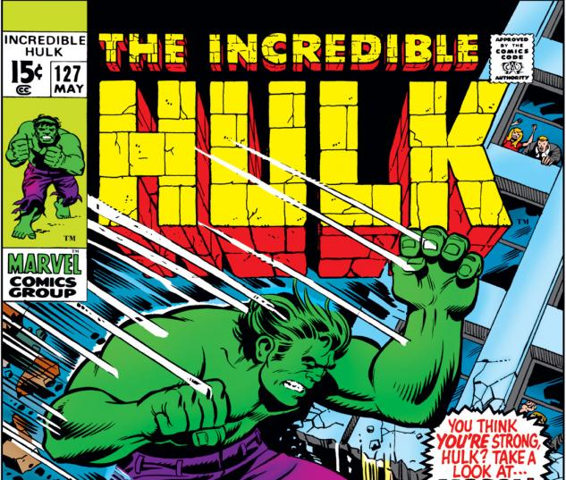Incredible Hulk (1962) #127 Cover