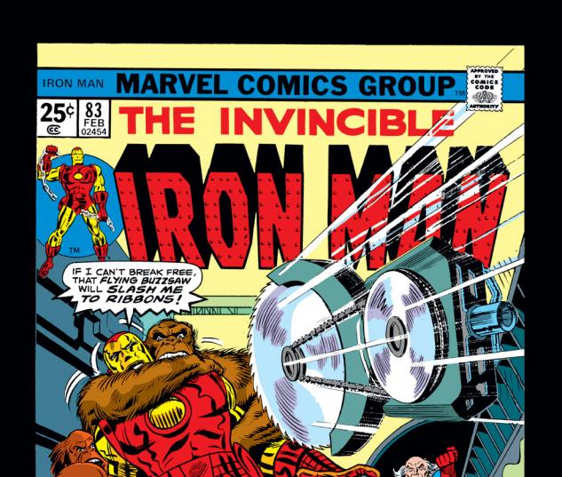 Iron Man (1968) #83 Cover
