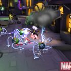 Screenshot of Storm battling from Super Hero Squad Online