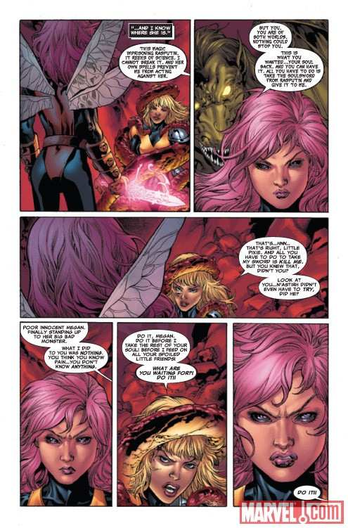 X-MEN: HELLBOUND #3 preview art by Harvey Tolibao and Tom Raney