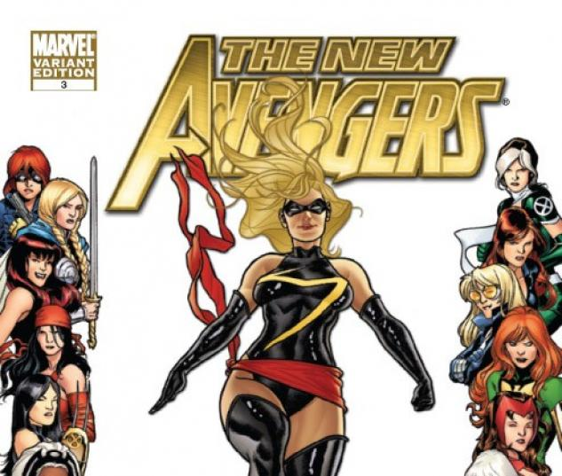 New Avengers #3 Women of Marvel variant cover by Joe Quinones