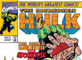 Incredible Hulk (1962) #457 Cover