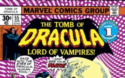 Tomb of Dracula (1972) #55 Cover