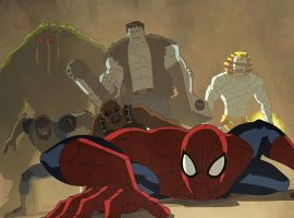 Spidey joins Blade, Man-Thing, Werewolf by Night, the Living Mummy & Frankenstein's Monster in Marvel's Ultimate Spider-Man