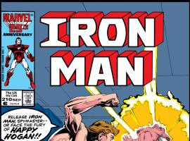 Iron Man (1968) #210 Cover