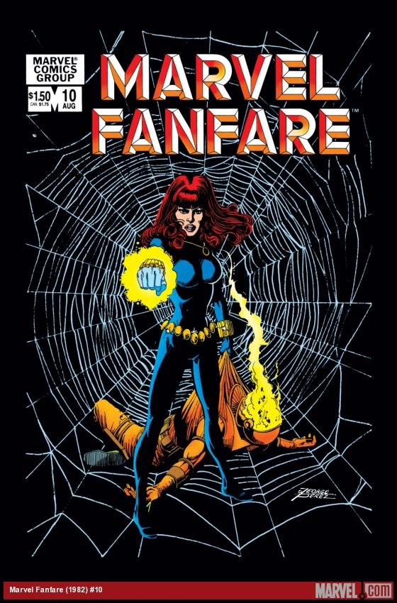 Marvel Fanfare (1982) #10 Cover