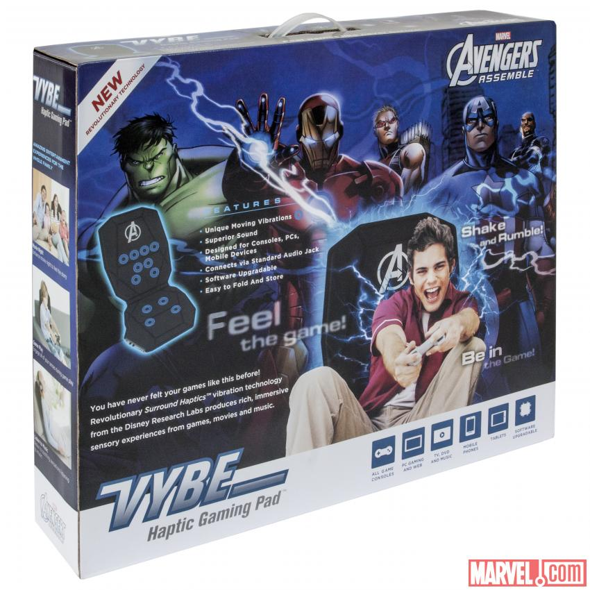The Avengers Gaming Pad