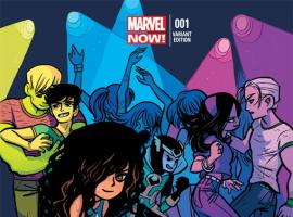 Young Avengers #1 O'Malley Variant