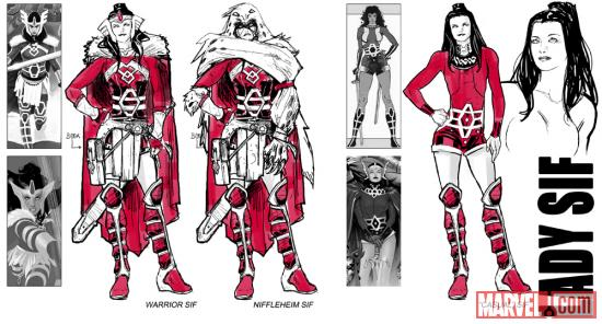 Sif designs by Valerio Schiti
