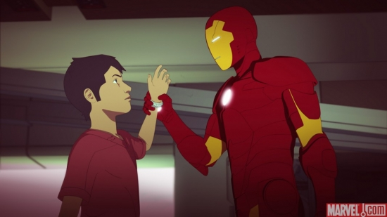 Iron Man: Armored Adventures episode 14 screenshot