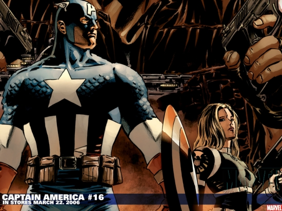 Captain America (2002) #16 Wallpaper